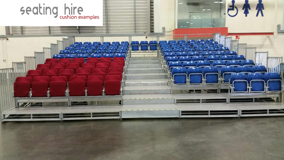 Tiered Seating Hire 1
