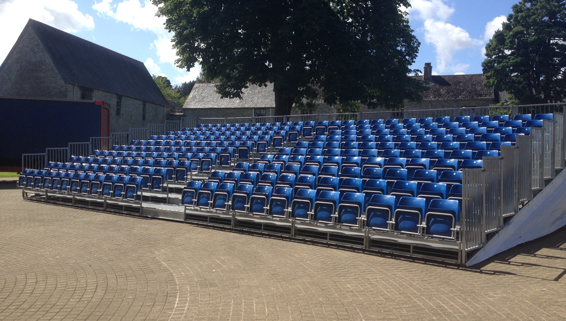 Tiered Seating Hire 2