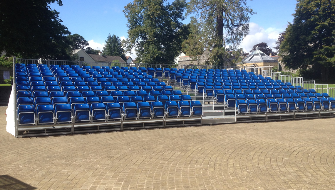 Tiered Seating Hire 3